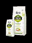 Brit Fresh Duck with Millet Active Run Work Утка с пшеном для активных собак