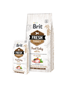 Britг Fresh Turkey with Pea Light Fit & Slim Индейка с горохом для контроля веса