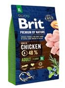 Brit Брит Premium by Nature Adult XL д/взрослых собак гигантских пород