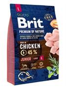 Brit Брит  Premium by Nature Junior L д/молодых собак крупных пород