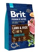 Brit Брит  Premium By Nature Sensitive Lamb д/собак с чувствит.пищеварением