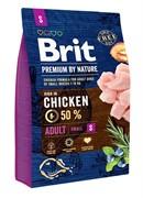 Brit Брит  Premium by Nature Adult S д/взрослых собак мелких пород
