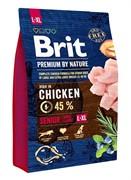 Brit Брит  Premium by Nature Senior L+XL д/пожилых собак крупных и гигантских пород (15 кг)