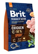 Brit Брит Premium By Nature Sport д/взрослых собак с высокими затратами энергии (15 кг)