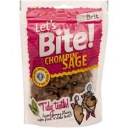 Brit Брит Лакомство д/собак Let's Bite Chompin' Sage С шалфеем, 150г
