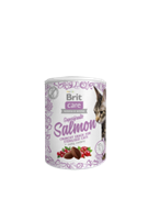 Brit Брит Care лак-во в БАНОЧКЕ д/стериилиз.кошек  Superfruits Salmon (40% рыбы, клюква и шиповник)