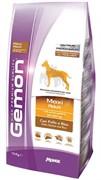 Gemon Dog Maxi корм для взрослых собак крупных пород курица с рисом