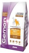 Gemon Dog Medium корм для взрослых собак средних пород с курицей (15 кг)