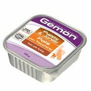 Gemon Dog консервы для щенков паштет индейка