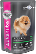 Eukanuba Dog паучи корм для собак с говядиной в соусе 100 г