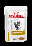 ROYAL CANIN (Роял Канин) Кусочки в соусе для кошек при профилактике МКБ, Urinary S/O