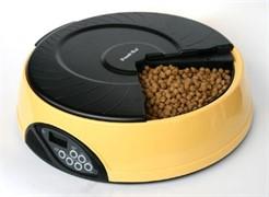 """Автокормушка """"Feed-Ex PF2Y"""" с ЖК дисплеем для кошек и собак (желтая)"""