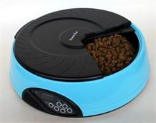 Автокормушка Feed-Ex для кошек и собак PF6 1.5 л (голубая)