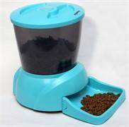 """Автокормушка """"Feed-Ex PF7B"""" для кошек и мелких пород собак(голубая)"""