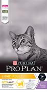 PRO PLAN® Light для взрослых кошек с избыточным весом С ИНДЕЙКОЙ (0,4 кг)