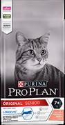 PRO PLAN® Adult 7+ для кошек старше 7 лет лосось (0,4 кг)