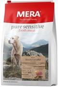 """Mera Pure Sensitive Fresh Meat """"Adult Rind Kartoffel"""" High Protein для взрослых собак с говядиной и картофелем (12,5 кг)"""