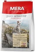 """Mera Pure Sensitive Mini Fresh Meat """"Adult Huhn&Kartoffel """"для взрослых собак малых пород с курицей и картофелем (4 кг)"""