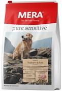 """Mera Pure Sensitive """"Senior Truthahn&Reis""""  для пожилых собак с индейкой и рисом (12,5 кг)"""