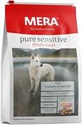 MERA PURE SENSITIVE Fresh Meat Гипоаллергенный сухой корм для взрослых собак с индейкой и картофелем Adult Truthahn&Kartoffel (12,5 кг)