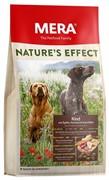 """Mera Natures Effect """"Rind Mit ?pfeln, Karotten & Kartoffeln""""  для взрослых собак с говядиной, яблоком, морковкой и картошкой (10 кг)"""