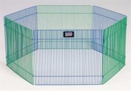 MidWest вольер для грызунов Critterville 6 панелей 38х48h см цветной