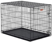 MidWest клетка iCrate 106х71х76h см 1 дверь черная