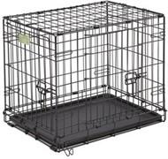 MidWest клетка iCrate 106х71х76h см 2 двери черная