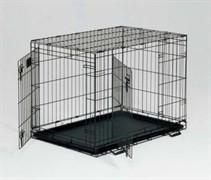 MidWest клетка Life Stages  91х61х69h см 2 двери черная