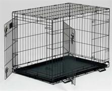 MidWest клетка Life Stages 122х76х84h см 2 двери черная
