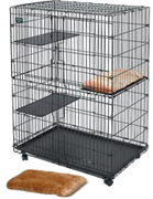 MidWest клетка для кошек Cat Playpens 90х59х121h см