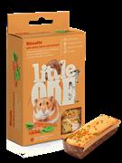 Little One Литтл Уан  Бисквиты д/хомяков, крыс, мышей и песчанок с морковью