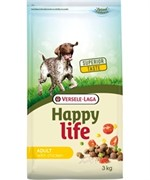 Happy Life (Versele-Laga) Для собак с курицей и рисом (Happy life Adult Chicken)