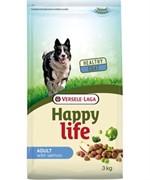 Happy Life (Versele-Laga) Для собак с лососем (Happy life Adult Salmon)
