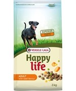 Happy Life (Versele-Laga) Для собак со вкусом говядины (Happy life Adult Beef)