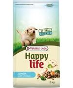 Happy Life (Versele-Laga) Для щенков с курицей (Happy life Junior Chicken)