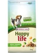 "Happy Life (Versele-Laga) Для собак ""Куриный ланч"" (Happy life Adult Chicken Dinner)  (15 кг)"
