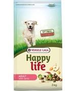 Happy Life (Versele-Laga) Для собак с ягненком (Happy life Adult Lamb) (15 кг)
