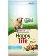 Happy Life (Versele-Laga) Для щенков с курицей (Happy life Junior Chicken)  (10 кг)