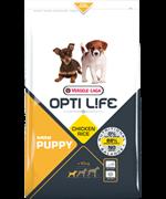 Opti Life (Versele-Laga) Для щенков малых пород с курицей (Opti Life Puppy Mini)