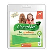Грин Форт БиоКапли д/собак 10-25кг от эктопаразитов 1пипетка*1,5мл
