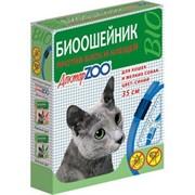 Доктор ЗОО БИОошейник д/кошек и мелких собак против блох и клещей синий 35см