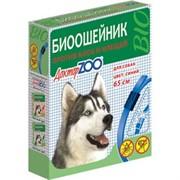 Доктор ЗОО БИОошейник д/собак против блох и клещей синий 65см