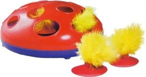 KONG игрушка трек для кошек Glide'n'Seek трек на батарейках диаметр 24 см