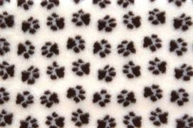 ProFleece коврик меховой 1х1,6 м сливки/шоколад