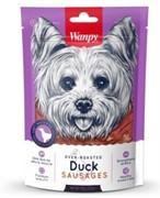 Wanpy Dog лакомство утиные сосиски 100 г