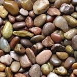 Аквагрунт Грунт-галька красная шлифованная 5-10мм 2кг