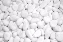 Аквагрунт Грунт натуральный окатаный белый 5-10мм 2кг