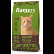 Banters Sterilized рыба с рисом сухой корм для кошек (8 кг)