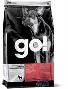 Корм GO! Natural беззерновой для щенков и собак с лососем для чувствительного пищеварения, Sensitivity + Shine Salmon Dog Recipe, Grain Free, Potato Free (11,35 кг)